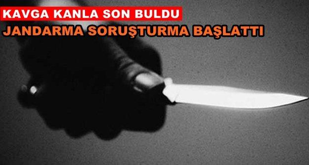 Alanya'da bıçaklı kavga: 1 yaralı var