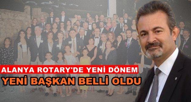 Alanya Rotary'de başkan değişikliği!