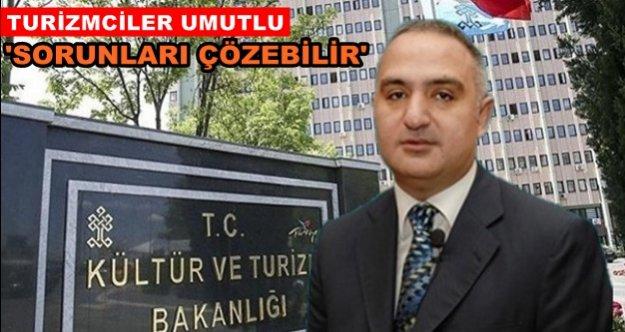 Bakan Mehmet Ersoy'a sektör temsilcilerinden destek