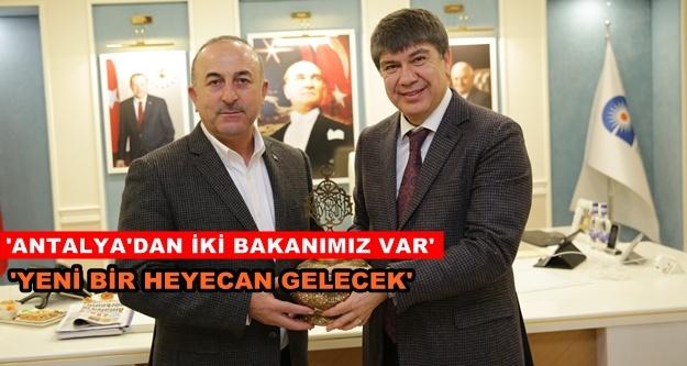 Başkan Türel'den yeni kabine değerlendirmesi
