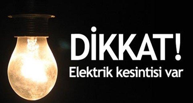 İşte Alanya'da elektriği kesilecek olan bölgeler!