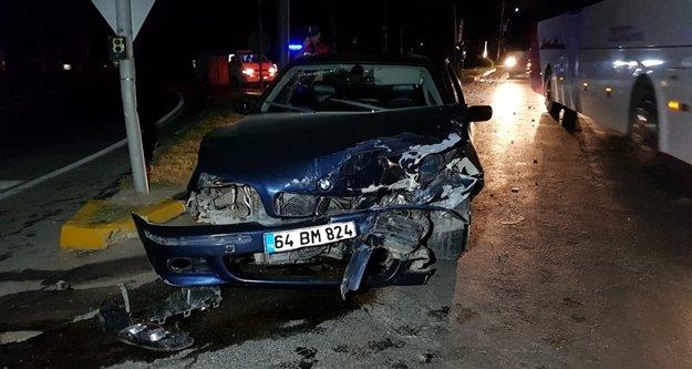 Komşuda feci trafik kazası: 5 yaralı