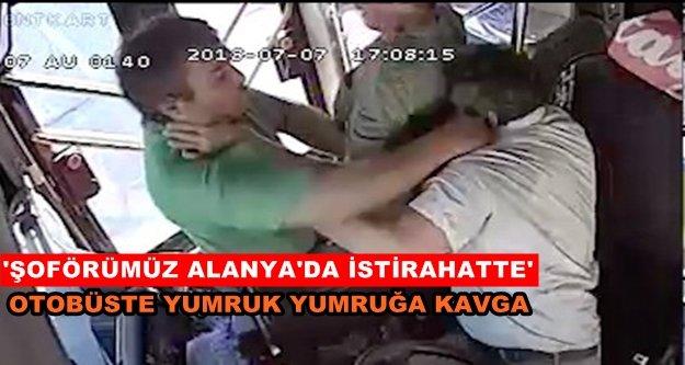 Otobüs şoförünü darp eden yolcu hakkında suç duyurusunda bulunuldu