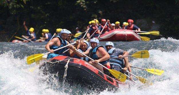 Rafting turizminden 700 bin turist, 200 milyon TL gelir bekleniyor