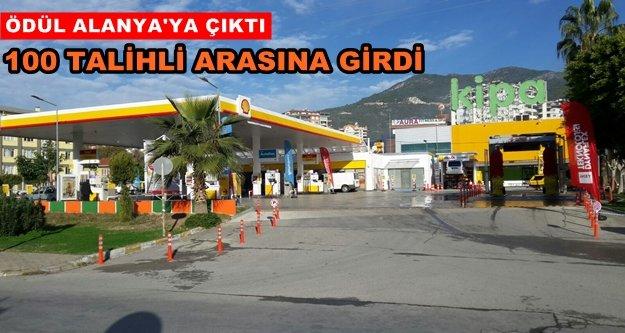 Shell'in talihlisi Alanya'dan çıktı