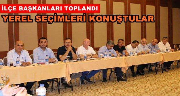 Toklu Antalya'daki kritik toplantıda