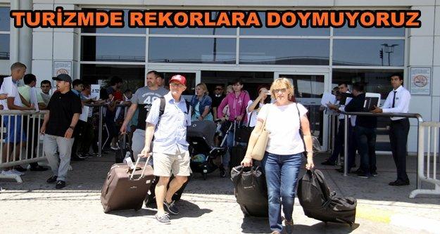 Turist sayısı 5 milyonu aştı