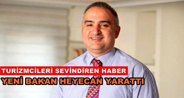 Antalya'nın iki bakanı oldu