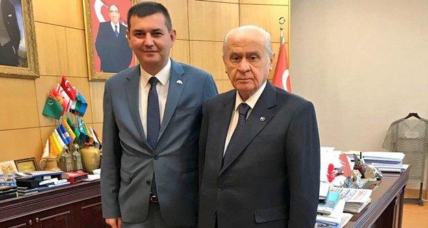 Türkdoğan'dan Bahçeli'ye ziyaret