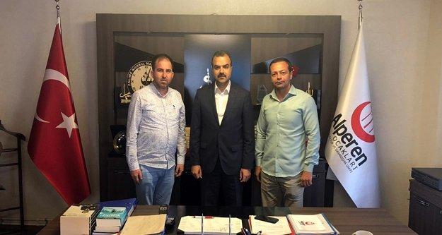 Uygur ve Erdoğan, genel başkanı ziyaret etti
