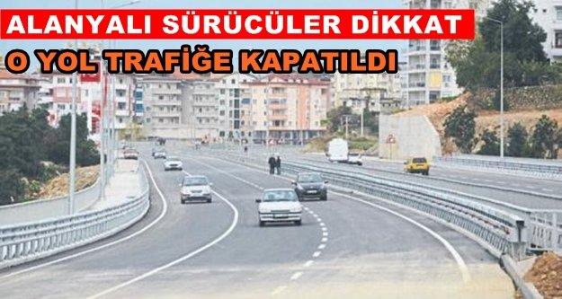 Yeni açılan yol tekrar trafiğe kapatıldı