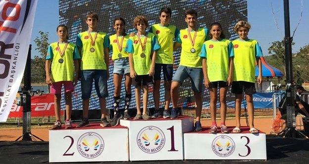 Alanya Belediyesporlu sporculardan önemli başarılar