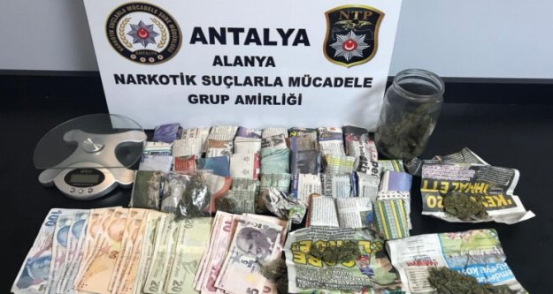 Alanya'da uyuşturucu operasyonu: 2 gözaltı var