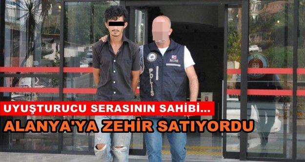 Alanya'daki uyuşturucu taciri tutuklandı