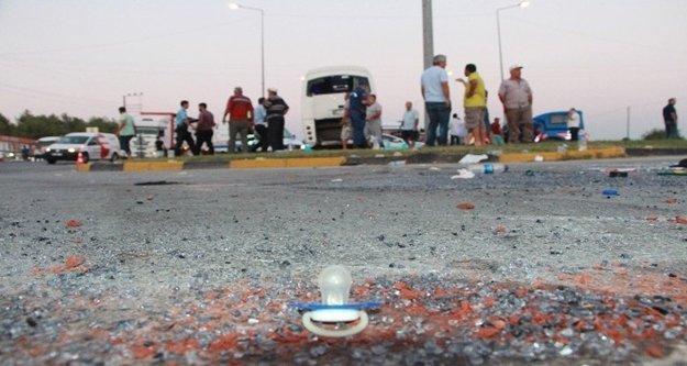 Antalya yolunda facia! 21 kişi yaralı