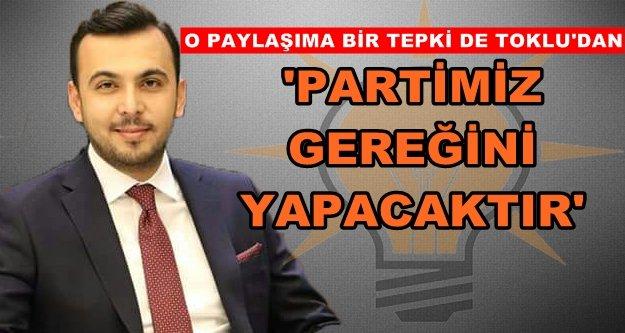 CHP'ye hakarete Mustafa Toklu'dan da tepki geldi