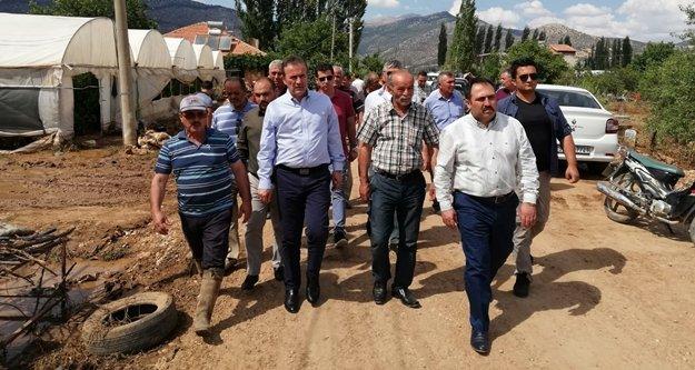 MHP'li Başkan'dan sel felaketi sonrası inceleme