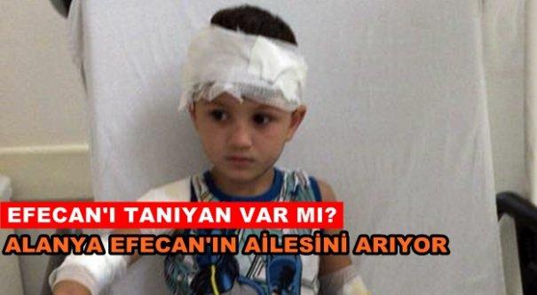 Polis kazada yaralanan Efecan'ın ailesini arıyor