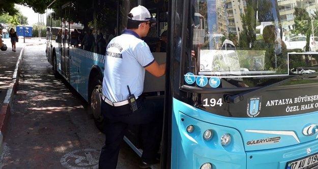 Toplu taşıma araçlarında klima denetimi