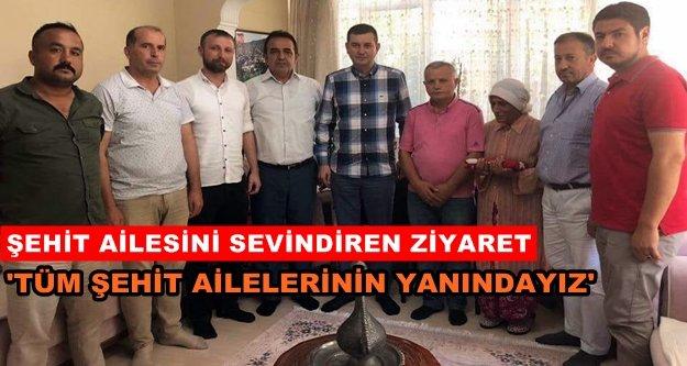 Türkdoğan'dan şehit evine ziyaret