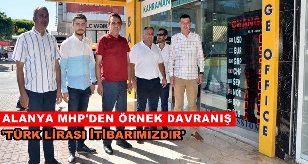 Türkdoğan ve MHP'liler döviz bozdurdu