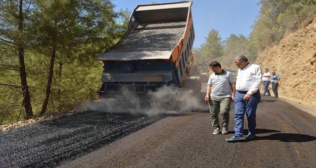 23 kilometrelik asfalt çalışması