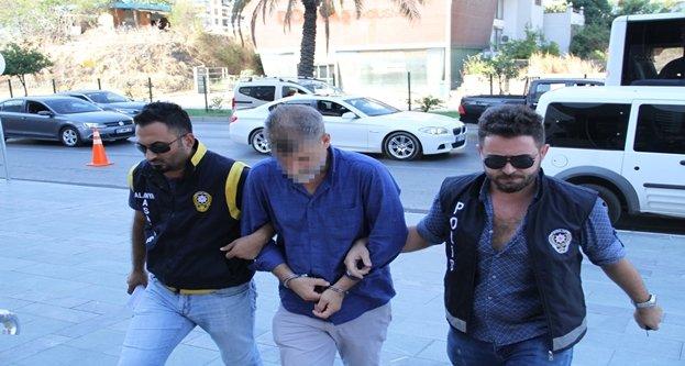 Alanya'da devlet malını zimmetine geçiren müdür yakalandı
