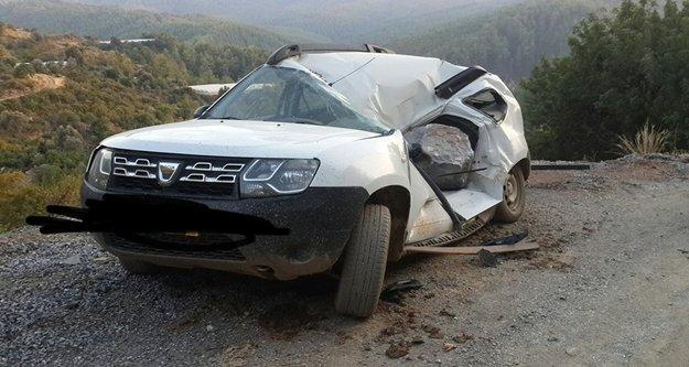 Alanya'da tuhaf kaza: Ölümden iki dakika ile kurtuldu