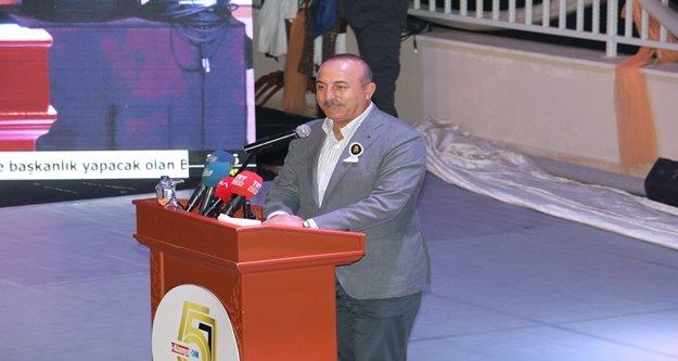 Çavuşoğlu: 'Mali saldırının ardında ABD ile Müslüman ülkeler de var'