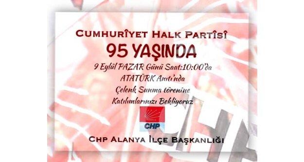 CHP 95 yaşında