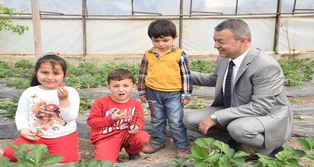 Çocuklar tarım öğrenecek