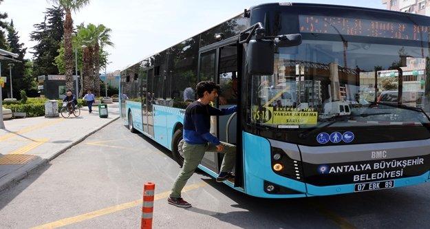 Gazipaşa-Antalya arası ekspres hat ile 2.5 saat