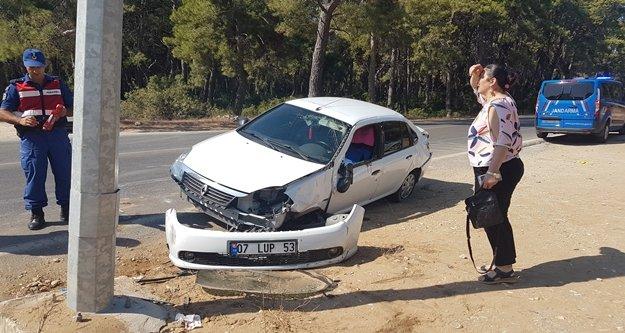 Komşuda trafik kazaları: 2 yaralı