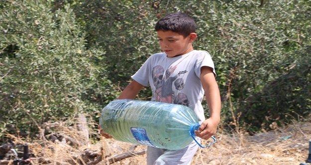 Mahallede 2 aydır içme suyu sıkıntısı yaşanıyor