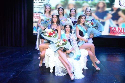 Miss Mediterranean 2018 kraliçesi Aylin Sevgili