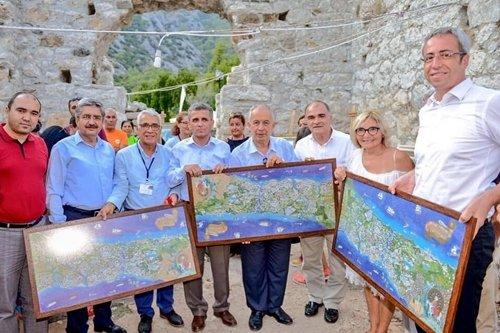 Olympos kültür turizmi uygulamalarında iddialı
