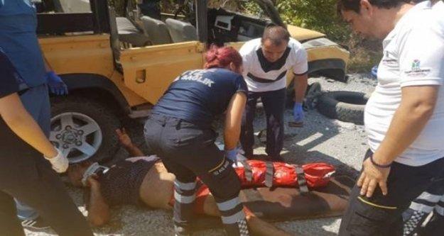 Safari kazasında ölü sayısı 2'ye çıktı