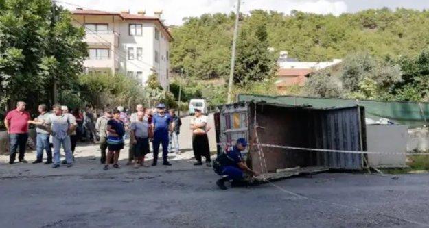 Alanya'da feci kaza: 3 yaralı var