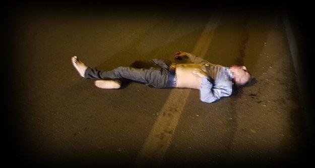 Alanya'da otomobilin çarptığı yaya öldü