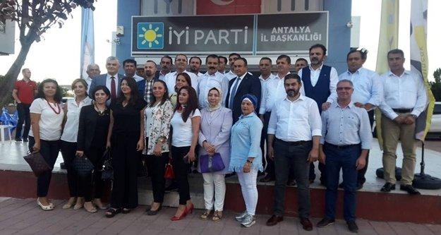 Alanya İYİ Parti'den Antalya çıkarması