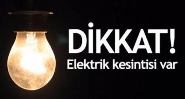 Alanya'ya elektrik kesintisi uyarısı