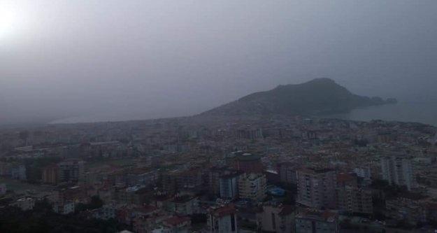 Alanya'yı saran toz bulutuyla ilgili korkutan açıklama