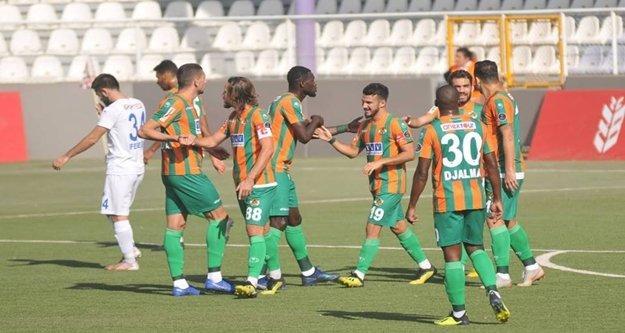 Alanyaspor 2 - Altındağ Belediyespor 1 (İlk yarı)