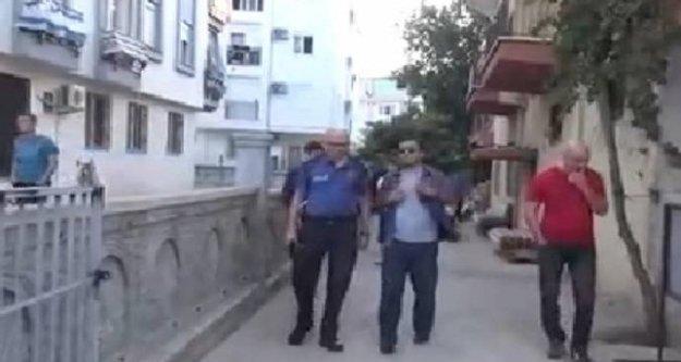 Babasını öldüren çocuk tutuklandı