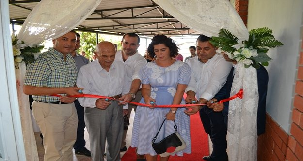Bahri Ergün Spor Salonu açıldı