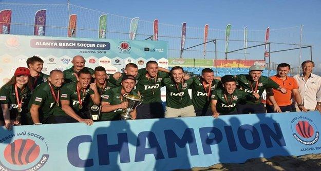Beach Soccer Cup'da şampiyon Lokomotiv BCS