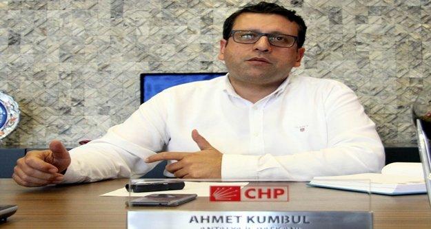 CHP'den Antalya Büyükşehir adayı açıklaması