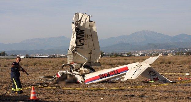 Düşen uçak sabıkalı çıktı