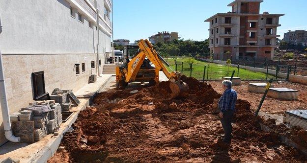 Alanya'da Karakocalı ve Hacımehmetli'ye kanalizasyon