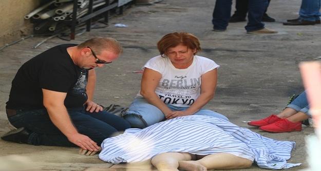 Temizlik yaparken düşen kadın öldü